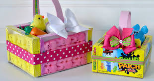 easter baskets to make edible easter baskets easy easter craft hip2save