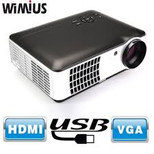 home theater projector 1080p aliexpress com buy wimius rd 806a 2800 lumens full hd led