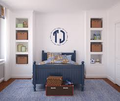Wall Decals For Boys Block Monogram Wall Decal Monogram For Boys Circle Monogram