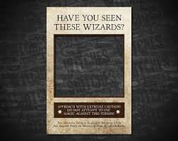 wanted poster prop etsy