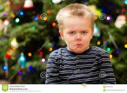very sad christmas for this guy stock photo image 63879428