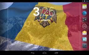Moldova Flag 3d Moldova Flag Live Wallpaper Android Apps On Google Play