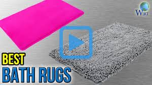 Crochet Bathroom Rug by Top 10 Bath Rugs Of 2017 Video Review