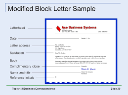 best ideas of modified block format of letter writing about free