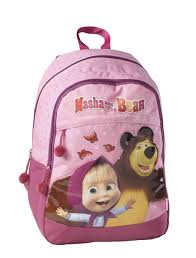 backpack masha bear kstationery mashaandthebear kids