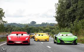 cars that look like lamborghinis what pixar cars should really look like gtspirit