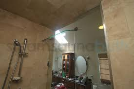 Interior Door With Transom Frameless Steam Shower Door With A Hinged Top Panel Transom