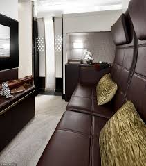 etihad u0027s residence comes with butler service double bed