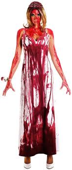 scary costumes for horror costumes for women women s carrie horror costume