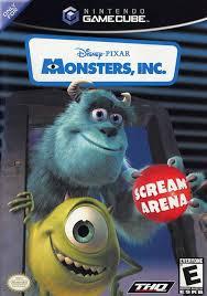 monsters scream arena box shot gamecube gamefaqs