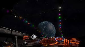 cockpit festive lights elite dangerous extras