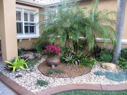 Tropical Rock Garden Beautify Your Home With Landscaping Ideas For Front Yard