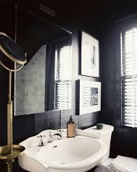 Modern Vintage Bathroom Modern Bathroom Photos Black White Bathrooms Pedestal Sink And