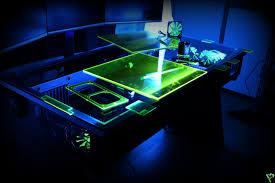 Futuristic Computer Desk Great Computer Desk With Futuristic Design And Equipped With Three