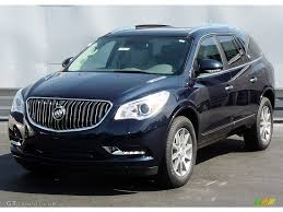 buick enclave 2016 2016 dark sapphire blue metallic buick enclave leather awd