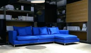 Light Blue Leather Sectional Sofa Blue Sectional Artnetworking Org
