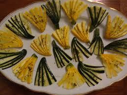 cuisine basse temperature philippe baratte courgettes en éventail cuisson basse température