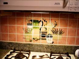 Ceramic Tile Murals For Kitchen Backsplash Kitchen Attractive Kitchen Artwork Ideas With Art Deco Kitchen