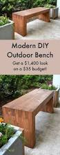 Outdoor Wood Sofa Plans Williams Sonoma Inspired Diy Outdoor Bench Outdoor Benches