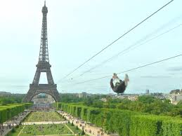 You Can Zipline Down The Eiffel Tower 115 Meters Above The Ground
