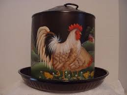 rooster kitchen canisters 423 best chickens images on rooster decor rooster