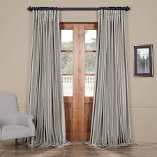 silver blackout extra wide textured faux dupioni