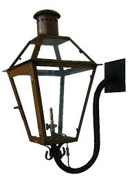 features light decor natural gas lamp post thrift r nch qu r r