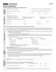 Limited Power Of Attorney Template 30 power of attorney forms by state