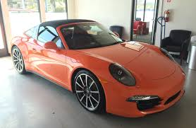 orange porsche lava orange targa in san francisco rennlist porsche