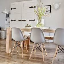 Eames Dining Chair Set Of 4 Dining Chairs Inspired Charles Eames Dsw Eiffel Style