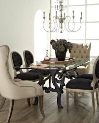 Tufted Arm Chairs Design Ideas Cream Tufted Dining Chairs Products Bookmarks Design Within Linen