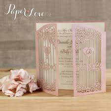 E Card Invites Exclusive Personalised Ornamental Gate Laser Cut Day Wedding