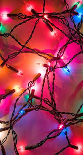 colorful warm christmas lights iphone 6 plus wallpaper background