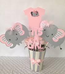 purple elephant baby shower decorations elephant centerpiece purple elephant centerpiece elephant