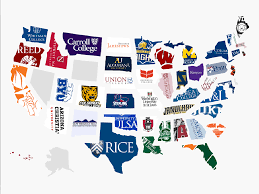 Show Me A Picture Of The United States Map by Hardest College To Get Into In Every State Business Insider