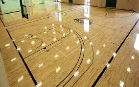 different of wooden flooring of basketball court sudesh
