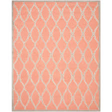 Home Depot Rugs Sale Safavieh Cambridge Coral Ivory 8 Ft X 10 Ft Area Rug Cam352w 8