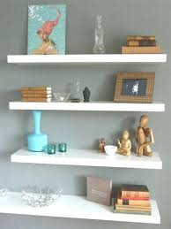 Cream Wood Bookcase Bookcase White Wall Mounted Shelf Unit White Wall Mounted Cube