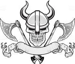viking skull stock vector art 532831367 istock
