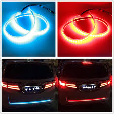 Auto Led Light Strips Car Suv Flowing Type Led Light Strip Trunk Tailgate Light Turn