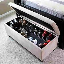 Popular Of Ottoman Shoe Storage Ottoman Shoe Storage Bench For The