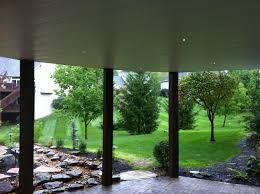 under deck installation in overland park kansas by raintight decks