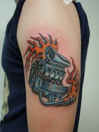 chevy v8 tattoo pictures to pin on pinterest tattooskid