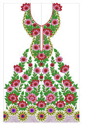 Full Embroidery Dress Designs Embroideryshristi