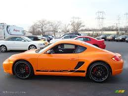 orange porsche 2008 orange porsche cayman s sport 7689606 gtcarlot com car