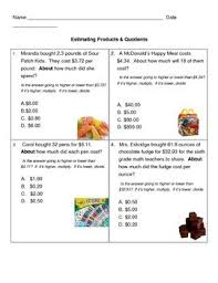 25 best math estimation images on pinterest products teaching