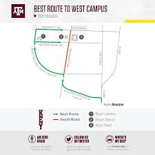 Lsu Parking Map Texas A U0026m Football Gameday 12thman Com