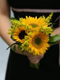 sunflower wedding bouquet bridal bouquet with sunflowers sunflower wedding bouquet