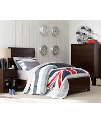 Twin Size Bedroom Furniture Tribeca Twin Size Bed Created For Macy U0027s Furniture Macy U0027s