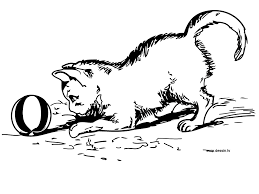 free coloring pages of white kitten gianfreda net
